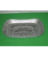 Vintage Wilton Armetale RWP Bless this House Aluminum Bread Tray - $9.46