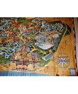 Disneyland  - Walt Disney's Disneyland Poster Map - $9.95