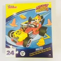 Disney Junior Mickey Roadster Racers Jigsaw Puzzle 24 pieces Birthday Christmas - $5.88