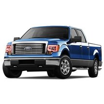 FLASHTECH for Ford F-150 09-14 Red Single Color LED Halo Ring Headlight and Fog  - $282.24