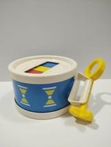 Vintage Fisher Price 1976 Toy Drum Xylophone - $19.34