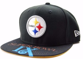 Pittsburgh Steelers New Era 9Fifty NFL Football Team Super Bowl IX Snapback Cap - $20.85