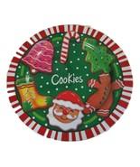 """Cookie Serving Platter is 12 7/8 """" across - $13.00"""