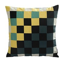 [Sunshine&Rain] Handmade Unique Grid Decorative Pillowcase 48CM - $21.16