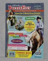Breyer    BREYERFEST 2013 ~ DENIM & DIAMONDS PROGRAM     Nice & Glossy  ... - $3.99