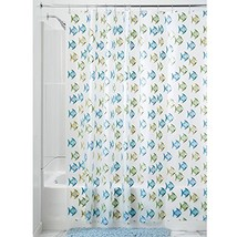 InterDesign Novelty EVA Shower Curtain, 72 x (Fish - Blue/Green|Shower C... - $20.79