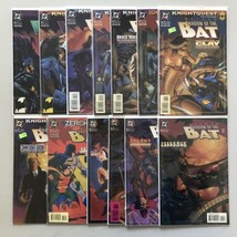 Lot 13 Batman Shadow of the Bat (1992) #18-23 26 28 31 36 38 41 42 VF Ve... - $35.64