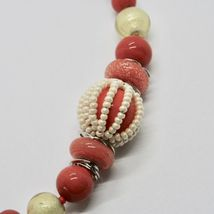Bracelet Antica Murrina Venezia with Murano Glass Red Coral BR742A25 image 4