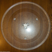 "14 1/8"" GE WB57K5313 Microwave Clear Glass Turntable Plate/Tray Good Use... - $40.09"