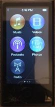 Apple iPod Nano 16GB Slate (7th Gen) MD481LL  A1446 (Cracked Screen) - $60.00