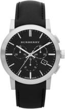 Burberry BU9356 The City Chronograph Black Dial - 42mm - 2 Years Warranty - $358.00