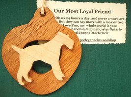 Fox Terrier Dog Ornament personalized with your dog's name - $12.00