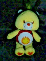 "2005 Care Bears ""Funshine Bear"" Lady Bug~9"" Natural Wonders Plush Beanbag - $11.87"