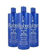 Rubee Hand & Body Lotion 16 oz. (3-Pack) with a Free 2 oz bottle - $23.99