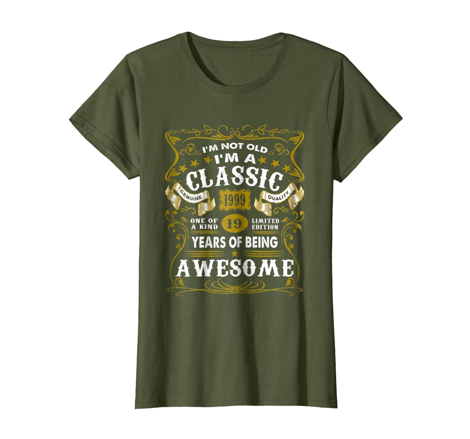 Primary image for Brother Shirts - I'm Classic 1999 Shirt 19th Birthday Gift 19 Yrs Old Awesome Wo