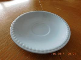 1 Homer Laughlin Made in USA Kraft Blue Saucer - $5.00
