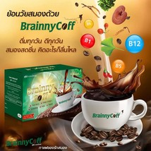 Brainny Coff Instant Concentrated Coffee Mix Slimming For Health Diet We... - $32.73