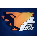 Jose Reyes New York Mets Mens XL T-Shirt Fruit Of The Loom Blue NY 100% ... - $9.49