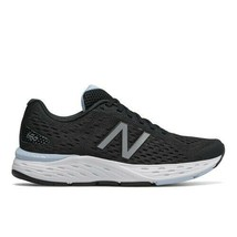 New Balance 680v6 Womens Black White Trainer Wide Running Sneakers Shoes W680LK6 - $142.99