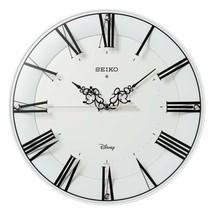 Disney Series Mickey Minnie Mouse White Wall Clock Adult SEIKO New - €245,77 EUR