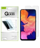 Samsung Galaxy A10E Premium Shockproof Screen Protector Guard Tempered G... - $5.85