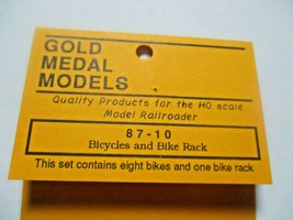 Gold Medal Models # 87-10 Bicycles and Bike Rack HO-Scale image 2