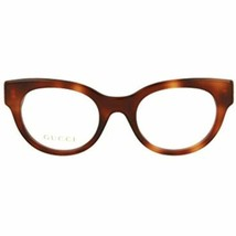 NEW Gucci GG0209O 002 Havana Eyeglasses 48mm with Gucci Case - $202.90
