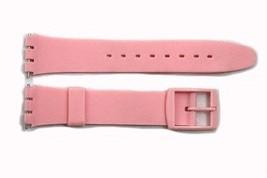 17mm Hombres Rosa Repuesto Correa para Reloj de Pulsera para Swatch Relojes - $8.42