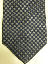 NEW Brooks Brothers Blue With Lighter Blue Squares Silk Neck Tie USA NWT - $41.24