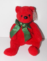 Ty Beanie Baby Mistletoe Plush 6in Teddy Bear Stuffed Animal Retired Tag... - $9.99