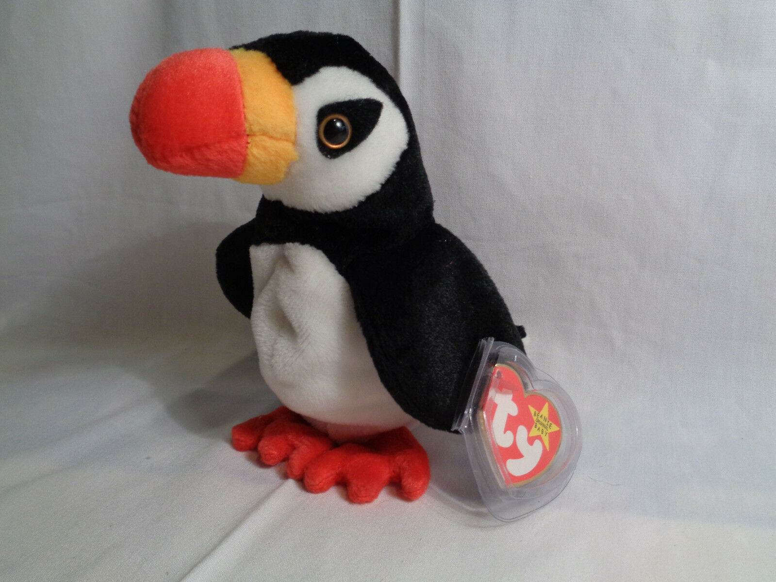 1997 Ty Beanie Baby Puffer with Tags & Tag Protector image 2
