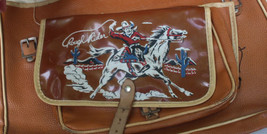 Vintage Rough Rider Cowboy Theme Child's Book Bag - $22.80