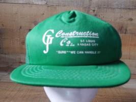 Gj Construction Co, St Louis Kansas City Snapback Adjustable Adult Hat Cap - $13.36