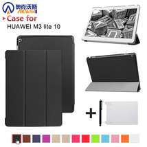 Foldable Case Cover Huawei MediaPad M3 Lite 10 BAH-W09 Tablet Protective... - $17.71+