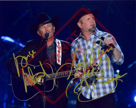 8.5x11 Autographed Signed Reprint RP Photo George Strait Garth Brooks - $12.90