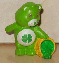 1984 Kenner Care Bears Goodluck Bear Mini Pvc Figure Vintage 80's #1 - $14.00