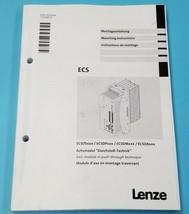 LENZ ECS MOUNTING INSTRUCTION MANUAL EDKCSDX064, 13238222 image 1