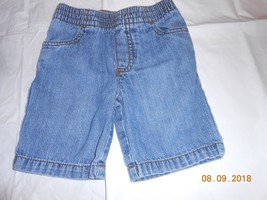 Okie dokie cute jean shorts size 3T Boy w/ pockets pull on/off 0.99 - $0.98