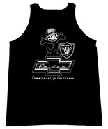 Felix The Cat Chevrolet The Raiders Commitment To Excellence Logo Men Ta... - $19.80