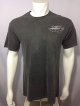 Cigar Connoisseur Club T Shirt Gray M Medium Mens Back Graphics Front Po... - $29.39