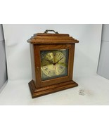 Amish Crafted Antique Shelf Clock - Oak Wood with Michael's Cherry Stain - New ! - $299.00