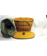 1997 Longaberger Fellowship Basket Traditions Collection  Liner, Protect... - $45.53
