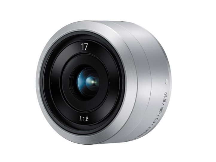 Samsung NX-M 17mm F1.8 OIS Lens for Samsung NX MINI (White Box) NEW