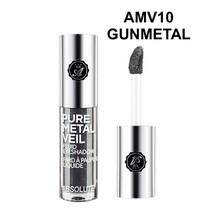 Absolute New York Pure Metal Veil Fluid Eyeshadow Gunmetal AMV10 - $2.56