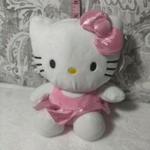 Pink Hello Kitty Plush money Bank cute sanrio - $19.79