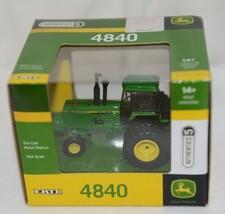 John Deere LP51304 Authentics 5 Die Cast Metal Replica 4840 Tractor image 1