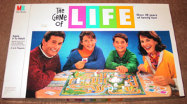 LIFE GAME OF LIFE 1991 MILTON BRADLEY COMPLETE EXCELLENT - $20.00