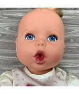 Vintage 1994 Gerber Baby Doll By Toy Biz 15 Inch Blue Eyes Bit of Hair P... - $22.99