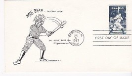 BABE RUTH #2046 CHICAGO, IL JULY 6, 1983 K ANDREWS #1 CACHET D-141 - ₹217.21 INR