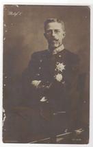 Gustav V King of Sweden Royalty Royal Family  RPPC Real Photo postcard - $9.41